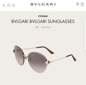 Bulgari Accessories - Bvlgari oversized sunglasses